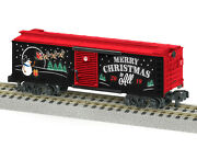 American Flyer By Lionel 1919320 2019 Christmas Boxcar Mib/new
