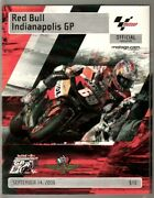 Indianapolis Motor Speedway Red Bull Grand Prix Motorcycle Race Program-9/200...