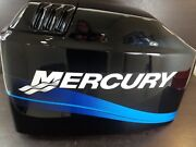 828353t7 Mercury 1994-2010 Hood Engine Cover Cowling 65 Jet 75 90 Hp 3 Cyl New