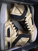Andnbspsupra Muska Goldies Mens Shoes Limited Edition 11 12 Hightop Skate Shoes Gold