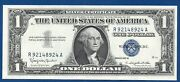 1957-b 1 Choice Silver Certificate Dollar Bill Us Paper Money Us Coins