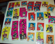 50 1969 Football Cards - 25 Different Players