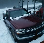 2001 Silverado Single Cab With Fisher Homesteaders Plow