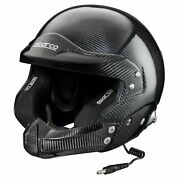 Sparco Sky Rj-7i Carbon Snell Fia Approved Peltor Compatible Race/rally Helmet
