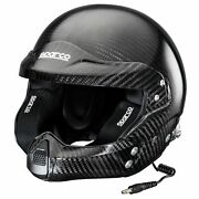Sparco Prime Rj-9i Supercarbon Fia 8860-2010 And Snell Sa2015 Approved Helmet