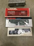 Lionel 3454 Merchandise, 6-9700 Southern, 6-16237 Railway, And 9215 Norfolk, O-27