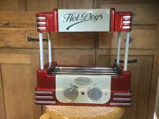 Pre Owned, Used Once Nostalgia Electronics Hot Dog Roller And Bun Warmer.. Rhd800