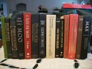 Lot Of 14 Old Collectible Books 1972 - 1999 Hardcover