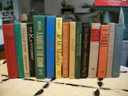 Lot Of 15 Old Collectible Books 1947-1989 Hardcover