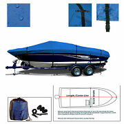 Campion Chase 700i Br Bowrider Trailerable Boat Cover Blue