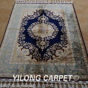 Yilong 3.5'x5' Classic Handmade Silk Rug Classic Carpet Great Hand Knotted 1764
