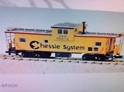 Usa Trains G Scale 12128 Extended Vision Caboose Chessie Rd 903113 Yellow