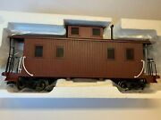 Bachmann 93804 Unlettered Caboose, W/metal Wheels And Interior Free Shipping New