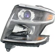 23490005 Gm2502405 Headlight Lamp Left Hand Side For Chevy Driver Lh Tahoe 15-17