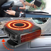 Portable Car Ceramic Heating Cooling Heater Fan 200w 12v Plug In Vehicle 2 Modes