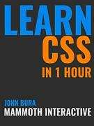 Learn Css In 1 Hour By Bura, John New 9781365522680 Fast Free Shipping,,
