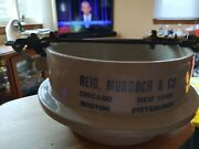 Rare Antique Red Wing Stoneware Advertising Pickle Crock Reid Murdoch And Co. G4