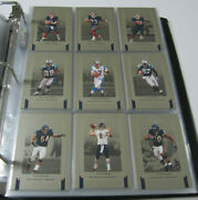 2005 Donruss Classics Complete Football Set With Aaron Rodgers Rookie Card