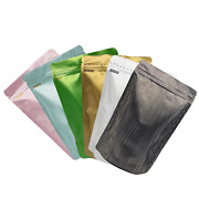 Quickqlickandtrade Bottom Gusset Mylar Pouches For Whole-wheat Flour Products 15x24cm