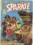 Sparkie 1-1951-based On The Radio Series-old Witch-human Fly-rare