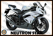 For 2009-12 Zx-6r Zx636 Abs Plastic Injection Mold Full Fairing Set Bodywork P08