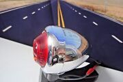 Bullet Turn Signal Lamp Harley Dh-49 Guide Red Fish Eye Pan Knucklehead 49-69 A3