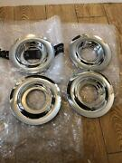 4x Used Rolls Royce Ghost Centre Hub Cover Chrome 3613677346 On Sale