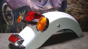 Fender Harley Rear Loaded White Ice Pearl 188 Fits Street Glide 2009-2013 Oh