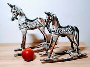 Colourfull Carved Rocking Horses