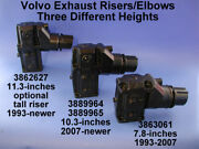 Volvo Penta Exhaust Riser Elbow 10.3 Inches Height 2007-present 3889964 3889965