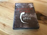 """Stephen King Autographed """"carrie"""" Hardcover Book Jsa Authenticated"""