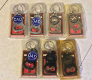 Lot Of 7 Worldand039s Greatest Dad Keychain Bottle Openerand039s Made In Usa