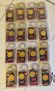 Lot Of 16 Smiley Face Keychain Bottle Openerand039s Made In Usa