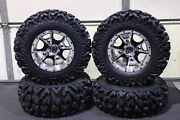 Can Am Defender Hd5 25 Rip Saw R/t Atv Tire And Cobra M/b Wheel Kit Can1ca
