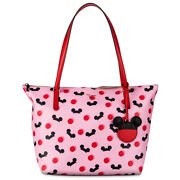 Disney Kate Spade New York Pink Tote Purse Mickey Mouse Ear Hat New W/ Tags