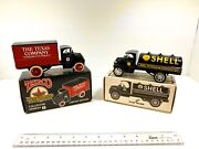 Collectable Shell Gasoline And Texaco Scale Model Coin Banks
