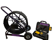 Lv Pipe Genius 200and039 Sewer Pipe Inspection Drain Camera W/512hz Sonde Included