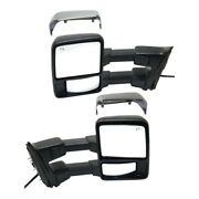 Mirror For 2011-2016 Ford F-250 Super Duty Left And Right Set Of 2