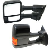 Mirror For 2010 Ford F-450 Super Duty Driver And Passenger Side Set Of 2