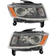 Headlight Lamp Left-and-right Ch2503247 Ch2502247 68110996af 68110997af