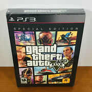 Grand Theft Auto V Ps3 Limited Special Edition 5 Sealed Near-mint