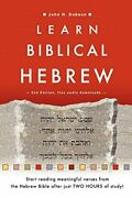 Learn Biblical Hebrew By Dobson, H. New 9781909281202 Fast Free Shipping,,