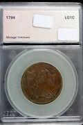 Estate Find 1794 - Flowing Hair Large Cent Hd0123