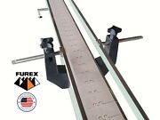 Furex Stainless Steel 8and039 X 4 Inline Conveyor With Plastic Table Top Belt