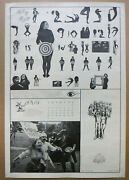 Rare Vintage 1967 Artists Liberation Front Sf Mime Troupe Double-sided Poster