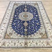 Yilong 6and039x9and039 Oriental Handmade Hand Knotted Carpets Antique Silk Area Rugs 060c