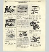 1965 Paper Ad Remco Toy Big Ceasar Roman Soldiers Seaview Submarine Tiger Cat