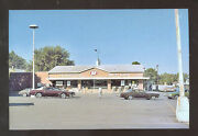 Kendallville Indiana Harmon's Iga Grocery Store Old Cars Postcard Copy