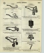 1918 Paper Ad 14 Pg Bicycle Accessories Pedals Wood Rims Oilers Brakes