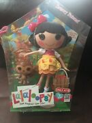 Lalaloopsy Doll Snow Fairest 12 With Pet Squirrel And Poster Full Size New